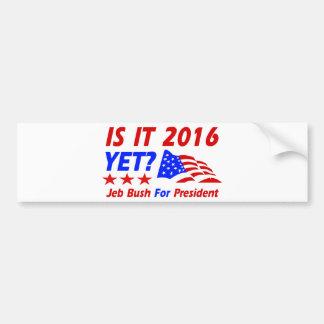 Cool Jeb Bush designs Car Bumper Sticker