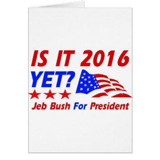 Cool Jeb Bush designs Card