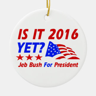 Cool Jeb Bush designs Christmas Tree Ornaments