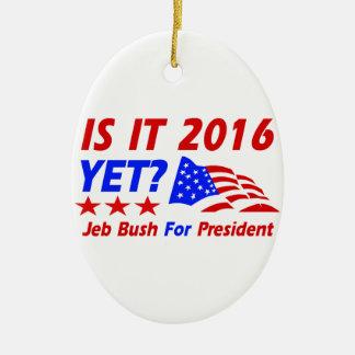 Cool Jeb Bush designs Christmas Ornament