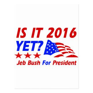 Cool Jeb Bush designs Postcard