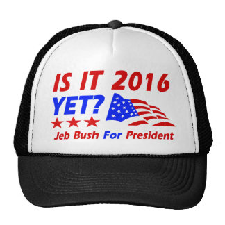 Cool Jeb Bush designs Trucker Hat