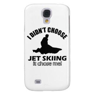 Cool Jet Skiing designs Samsung Galaxy S4 Case