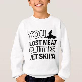 Cool jet skiing designs sweatshirt