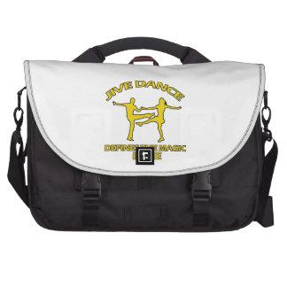 Cool Jive dance designs Bag For Laptop
