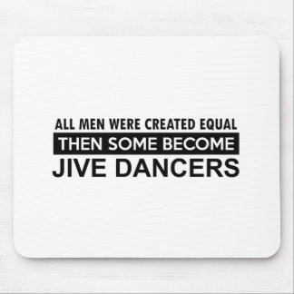 Cool Jive dancing designs Mouse Pad