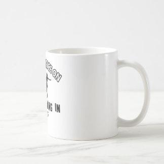 Cool jive designs classic white coffee mug