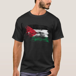 Cool Jordanian flag design T-Shirt