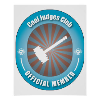 Cool Judges Club Poster