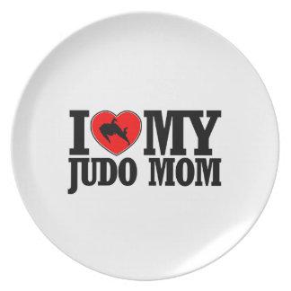 cool Judo  mom designs Plate
