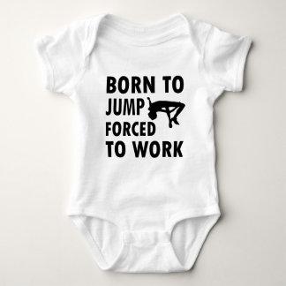 Cool Jump high Designs Baby Bodysuit