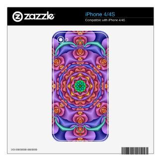 Cool kaleidoscope iPhone 4/4S skin Skin For iPhone 4S