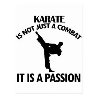 cool Karate DESIGNS Postcard