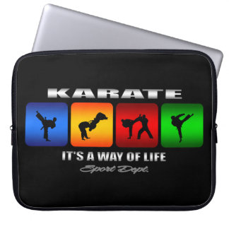 Cool Karate It Is A Way Of Life Computer Sleeve