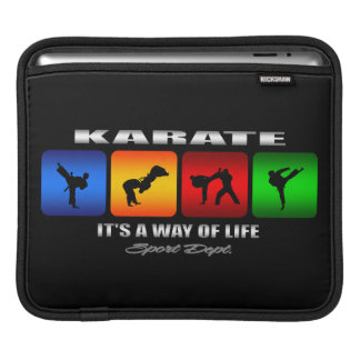 Cool Karate It Is A Way Of Life Sleeve For iPads