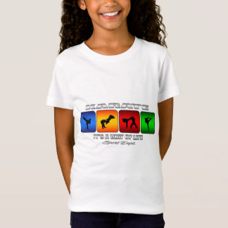 Cool Karate It Is A Way Of Life T-Shirt