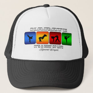 Cool Karate It Is A Way Of Life Trucker Hat