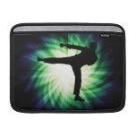 Cool Karate Kick MacBook Sleeves