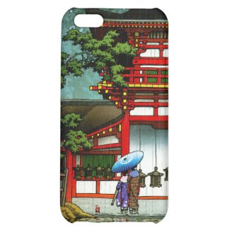 Cool Kasuga Shrine Nara Hasui Kawase shin hanga iPhone 5C Case