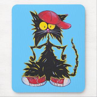 Cool Kat Hip Hop Mouse Pad