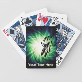 Cool Kayaking Bicycle Playing Cards