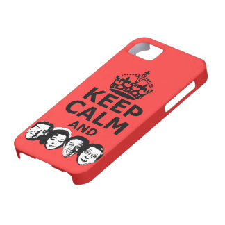 Cool keep calm and carry on iPhone SE/5/5s case