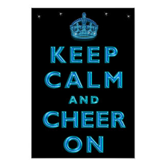 Cool KEEP CALM AND CHEER ON Posters