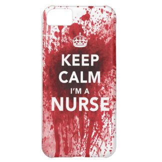 Cool Keep Calm I m a Nurse iPhone 5C Case