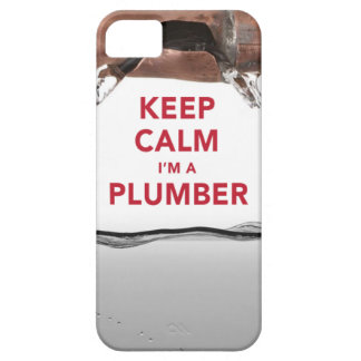 "Cool ""Keep Calm I'm a Plumber"" iPhone 5/5S Case"