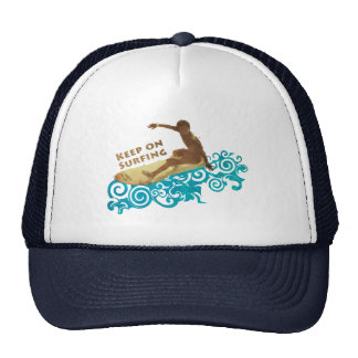 Cool Keep on Surfing Summer Surf Cap