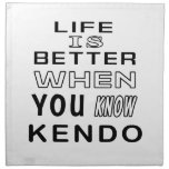 Cool Kendo Designs Napkin