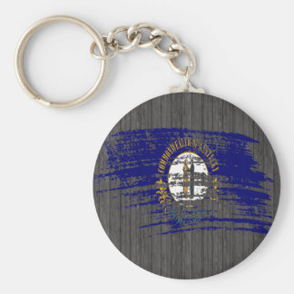 Cool Kentuckee flag design Keychains