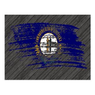 Cool Kentuckee flag design Postcard