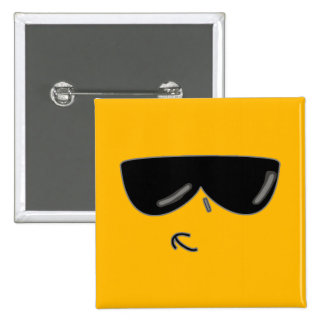 cool kev face 2 inch square button