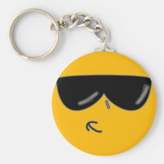 cool kev face keychain