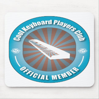 Cool Keyboard Players Club Mouse Mats