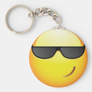 Cool Basic Round Button Keychain
