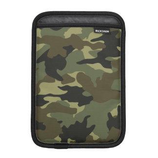 Cool Khaki Green Camo Military iPad Mini Sleeves