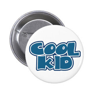 Cool Kid Pinback Button