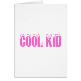 Cool Kid (Pink) Greeting Card