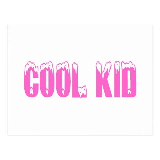 Cool Kid (Pink) Postcard