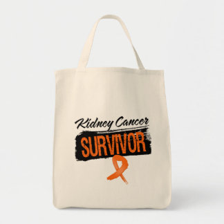 Cool Kidney Cancer Survivor Canvas Bag