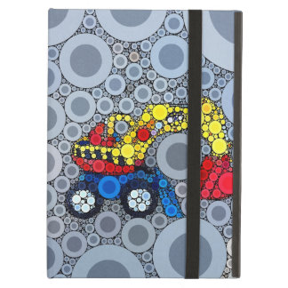 Cool Kids Construction Truck Excavator Digger iPad Air Covers
