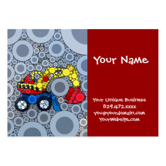 Cool Kids Construction Truck Excavator Digger Large Business Card