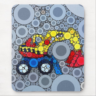 Cool Kids Construction Truck Excavator Digger Mouse Pad