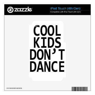 Cool kids iPod touch 4G decals
