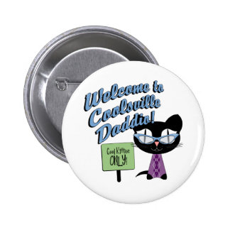 Cool Kitty Buttons