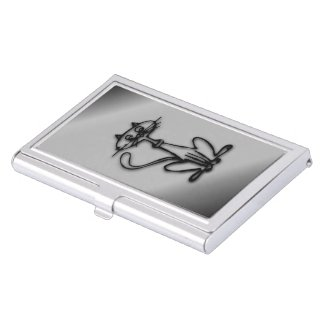 Cool Kitty Cat Business Card Holders