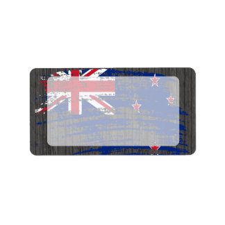 Cool Kiwi flag design Address Label