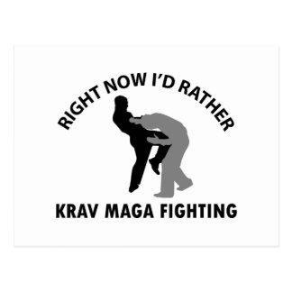 cool Krav maga  designs Postcard